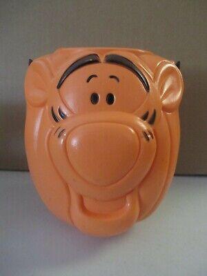 Tigger Winnie the Pooh Halloween Blow Mold Pumpkin Trick or Treat Pail Bucket