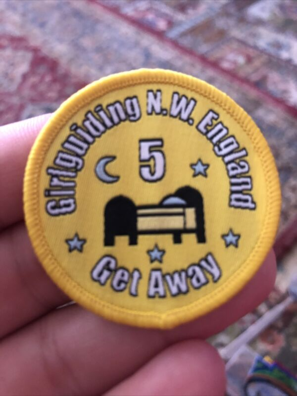 Girl Guiding North West Get Away 5 Night Woven Badge