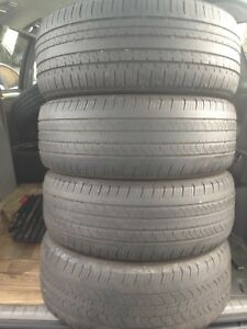 4-215/55R17 Michelin all season
