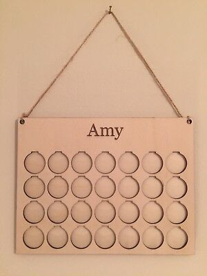 Personalised Weight Loss Motivation Savings Board/Chart/Journey/plaque £1for1lb