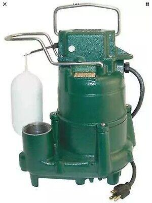 Zoeller D98 - 12 Hp Cast Iron Submersible Sump Pump W Vertical Float Switch...