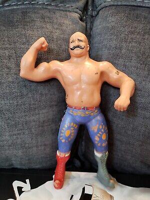 WWF LJN 1984 ORIGINAL IRON SHEIK WRESTLING ACTION FIGURE WWE - SERIES 1
