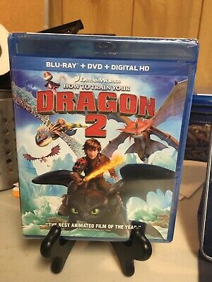 How to Train Your Dragon 2 NEW Blu-ray + DVD + Digital HD Toothless Hiccup (Halloween 2 Blu Ray Special Edition)