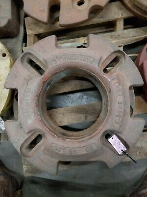 Massey E. Rowe Fdry Martinsville Illinois 35 50 65 Tractor Wheel Weight Set