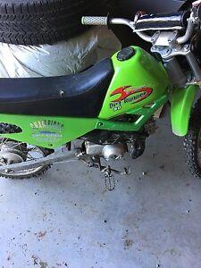 Baja Motorsport dirt bike