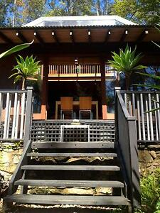 XMAS HOLIDAY RENTAL: Balinese inspired house on Dangar Island Dangar Island Hornsby Area Preview