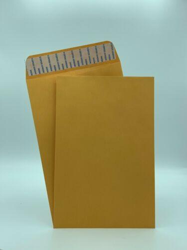 """6"""" x 9"""" Premium Catalog Envelopes, Premium 24lb. Kraft, Peel & Seal, 500/Box"""
