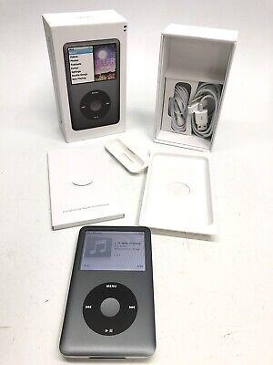 Apple iPod Classic 7th Generation 160GB Silver A1238 W/Box & Accessories, Mint!