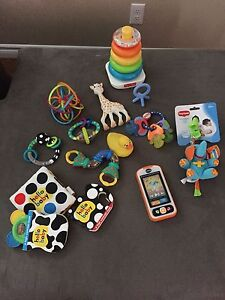 Infant to Toddler Toy Lot with Chair!