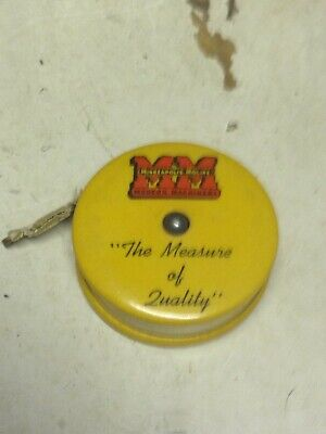 Vintage Mineapolis Moline Advt. Tape Measure
