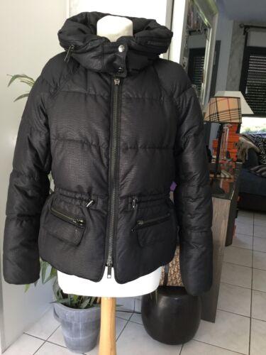 Doudoune manteau blouson burberry taille m/l noir tres bon etat