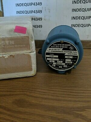 Superior Electric Ss150b Slo-syn Synchronous Stepping Motor 120v 0.4 Loc 3a4