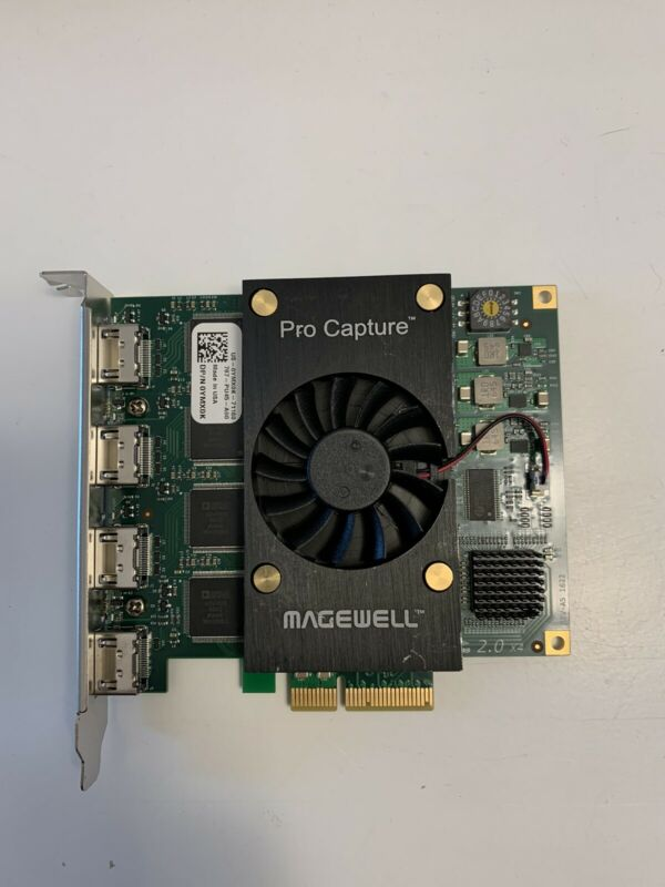 Magewell 11100 Pro Capture Quad HDMI Card