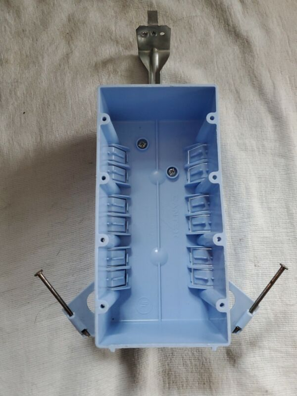 Cantex EZ55QNB 4 Gang Switch/Outlet Box with Adjustable Bracket - New