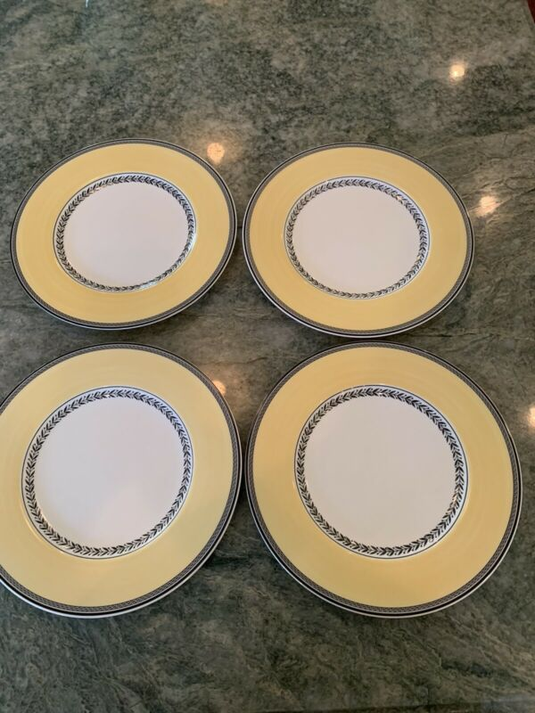 villeroy boch audun Set Of 4 Dinner Plates