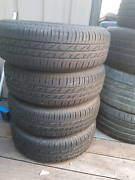 13 inch rims and nearly new tires Wanneroo Wanneroo Area Preview