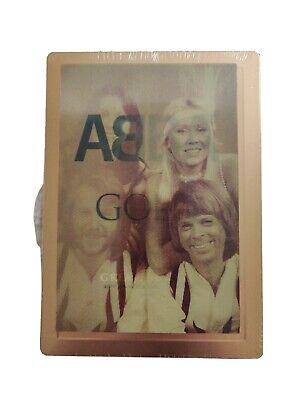ABBA Gold - 40th Anniversary Edition 3 x CD Set Steelbook With Lenticular Magnet