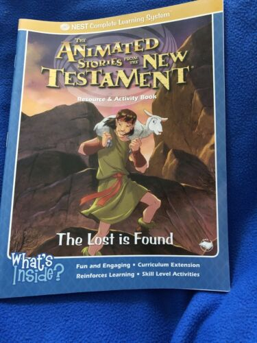 The Lost Is Found Resource And Activity Book Animated Stories From The New Testa - $1.25