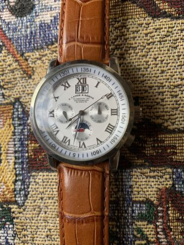 a lange sohne Flyback - watch picture 1