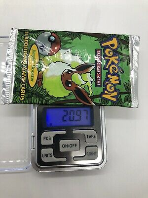 Pokemon 1st edition jungle booster pack(flareon Art) *WEIGHED HEAVY!