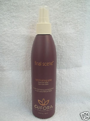 - Eufora FINAL SCENE Light Finish Hair Spray 8.45 oz~ LOT of 3 ~ORIG Brown Bottles