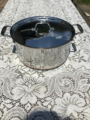 ALL CLAD New COPPER CORE polished stainless 8 Quart STOCK POT w/lid FREE SHIP All Clad 8 Quart Stock Pot