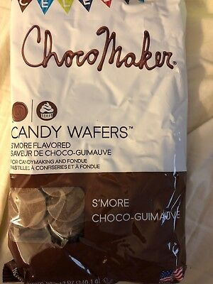 ChocoMaker(R) Candy Wafers Smores S'more Chocolate Melts  12 oz Bag - Chocolate Candy Melts