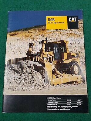 Cat D9r Track-type Tractor 3408e Brochure Aehq5157-01 Publish Date 12-9