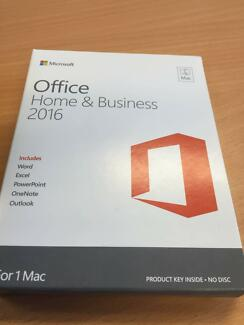 Microsoft Office Home & Business 2016 (FOR MAC ONLY)