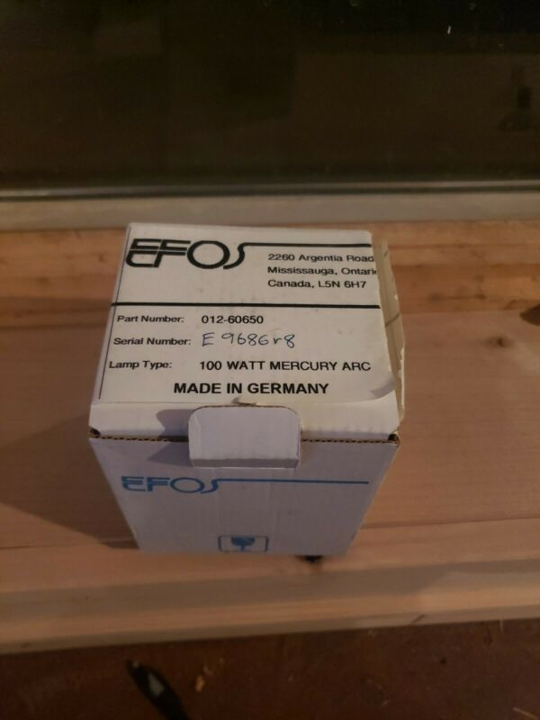 Exfo Efos 012-60650 100 Watt Mercury Arc Bulb