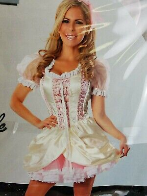Playboy Delicious Sexywear Southern Belle Costume Halloween Adult Women Sz S / M