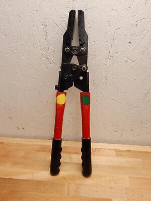 Molex 64001-3900 Hand Crimp Tool W 19285-0084 For Rv Scpc 10awg Connectors