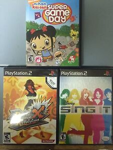 PlayStation 1, 2, 3 & 4 Games, & DVD's