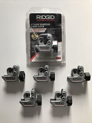 Ridgid 101 Close Quarters Tubing Cutters Lot Of 6 New Used Wnew Spare Wheels