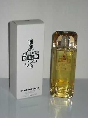 Paco Rabanne 1 Million Men Cologne 4.2 Oz / 125 Ml Spray WITH CAP, READ LISTING