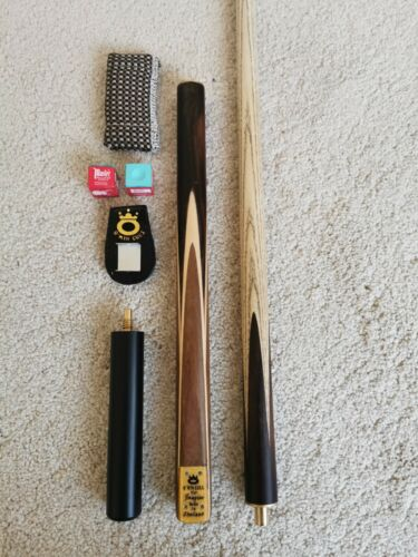 3/4 Joint O'Min Imagine 9mm Snooker / Pool Cue Set and Extension and case