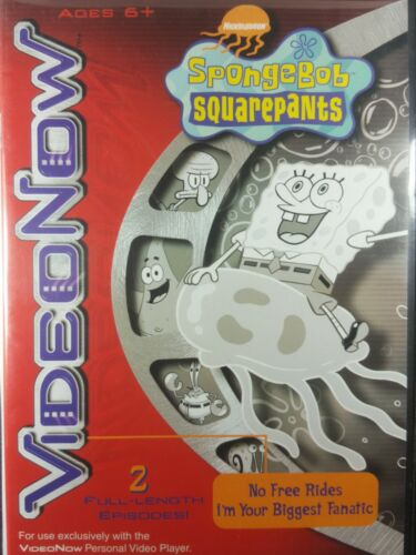 Video Now B / W Personal Video Player Viacom Spongebob Squarepants Disc Episodes - $7.60