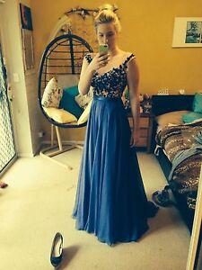 Sherri Hill royal blue formal dress Salt Ash Port Stephens Area Preview