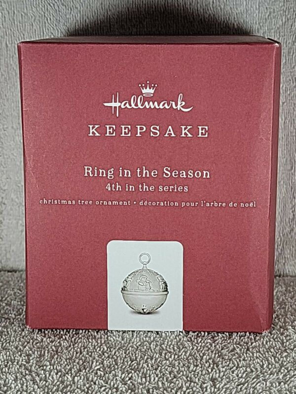 Hallmark Keepsake Ornament  2018 RING IN THE SEASON Bell Snow Buddies 4th