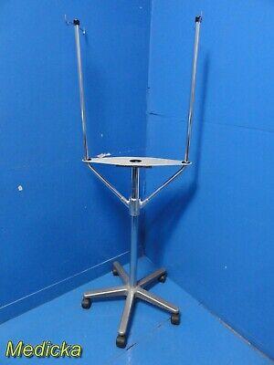 Arthrex Height Adjustable Device Stand W Dual Iv Pole 4-wheel Base 20933