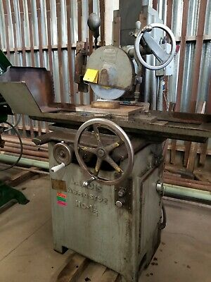 Landis 10 X 15 Surface Grinder. Model Abrasive No 1-12 With Magnetic Chuck
