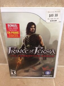 Prince of Persia - The Forgotten Sands Wii