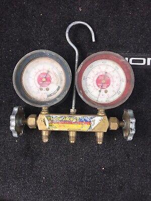 Ritchie Yellow Jacket - Hvac Test Charging Manifold Gauges R410a Flutterless