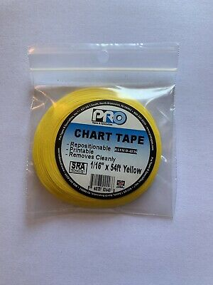 Yellow Chart Tape Grid Tape Whiteboard Tape-116 In W X 54 Ft L - Free Ship