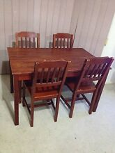 Table plus 4 chairs Salisbury Brisbane South West Preview