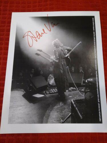 Steve Vai Signed 8X10 Photo Guitar Pick Greasy Kid s Stuff 12 Newsletter Set - $49.00
