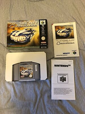 Top Gear Overdrive Boxed With Instructions Nintendo N64 Pal