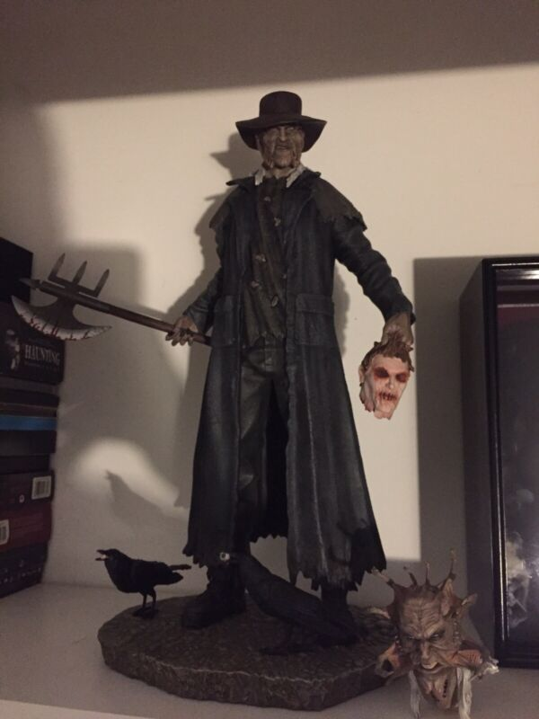 HCG 1:4 SCALE JEEPERS CREEPERS SIGNED STATUE EXCLUSIVE EDITION SIDESHOW # 07/150
