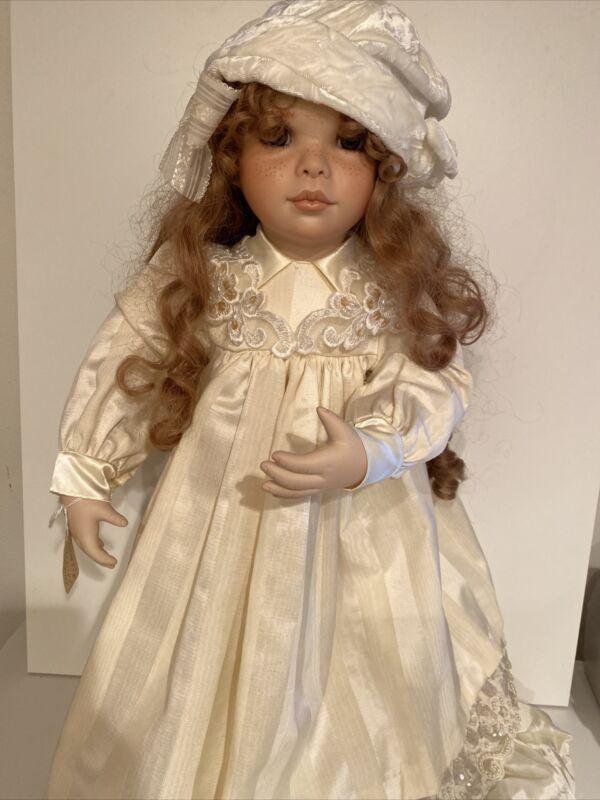 "Virginia Turner 24"" Porcelain Doll ""Andria"" Prototype 1997"