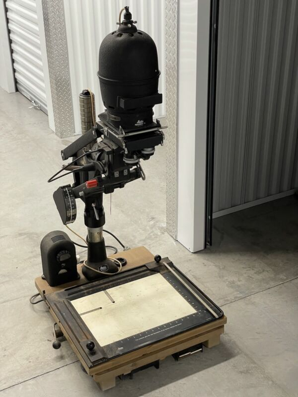 Leica Leitz Focomat IIc Film Enlarger + Focotar 60mm & 100mm Lenses - Sold AS/IS